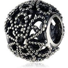 Pure Rose ajouré en argent sterling 925pour bracelets eu…