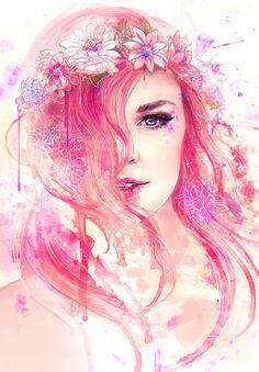 My Soul is Pink by AquaJ.deviantart.com on @deviantART