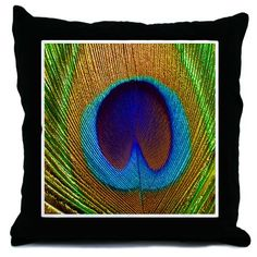 Peacock Feather Pretty Pillows Throw Pillow              More Like This:  Throw Pillows: house warming, throw pillow, home accents, illustrations, Pillow, home decor, tile, trendy, inspiration, clock  All Products: house warming gifts gifts, throw pillow gift, home accents merchandise, illustrations gift ideas, Pillow stuff, home decor themed gear, tile gifts, trendy gift, inspiration merchandise, clock gift ideas  Designer's Shop: The Dezine Shop  Peacock Feather Pretty Pillows Throw Pillow