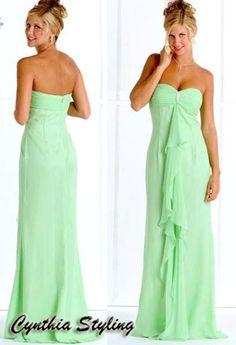 Mint Green prom dresses gorgeous