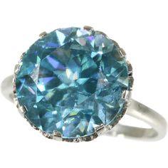 Platinum Engagement Rings, Perfect Engagement Ring, Ring Engagement, Bali Jewelry, Jewellery, Engagement Ring Buying Guide, Traditional Engagement Rings, Cute Rings, Blue Zircon