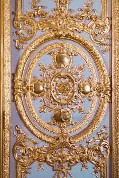 Paris Versailles Photography Ornate Gold by ParisPlus on Etsy, $25.00
