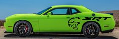 Dodge Challenger SRT Hellcat Side Decals