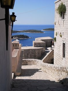 amaizing view from Fortica fortress  #croatia #HVAR #island