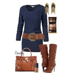 Sweater Dress and Boots
