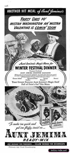 1937 Aunt Jemima Ad
