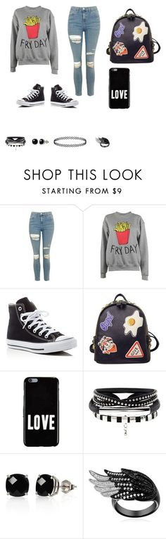 """""""Untitled #2019"""" by ekloveless ❤ liked on Polyvore featuring Topshop, Adolescent Clothing, Converse, WithChic, Givenchy and Belk & Co."""