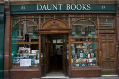 Daunt Books is an original Edwardian bookshop with long oak galleries and graceful skylights situated in Marylebone High Street, London.