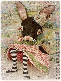 Queen Julienne ... by doll artist Kaf Grimm of Grimitives