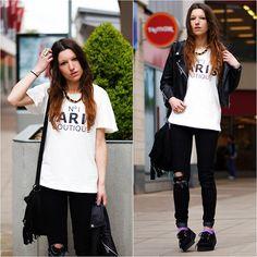 Paris Boutique T Shirt, Primark Jeans, Primark Creepers