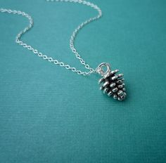Hey, I found this really awesome Etsy listing at http://www.etsy.com/listing/55071158/petite-pine-cone-necklace-in-sterling