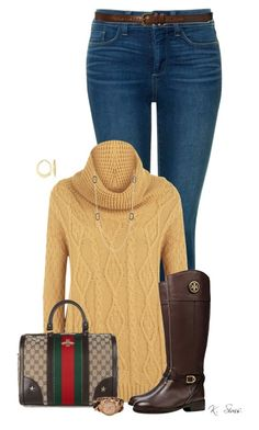 """""""Untitled #7821"""" by ksims-1 ❤ liked on Polyvore featuring NYDJ, WearAll, Gucci, Tory Burch, Nordstrom Rack, Michael Kors, Ross-Simons and Abercrombie & Fitch"""