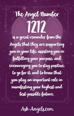 The Angel Number 1212 is a great reminder from the angels that they are supporting you in your life, assisting you in fulfilling your purpose, and encouraging you to stay positive, to go for it, and to know that you play an important role in manifesting y Numerology Calculation, Numerology Numbers, Astrology Numerology, Astrology Meaning, Astrology Chart, Spiritual Meaning, Spiritual Guidance, Spiritual Awakening, Spirituality