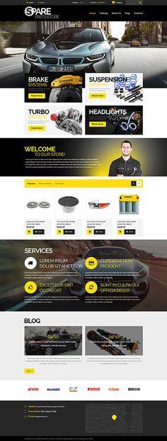 Car Spare Parts Store #Prestashop #template. #themes #business #responsive #webshop #Prestashopthemes