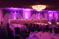 Crystal Ballroom with complimentary uplighting