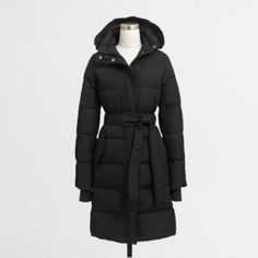 J.Crew+Factory+-+Long+belted+puffer+jacket