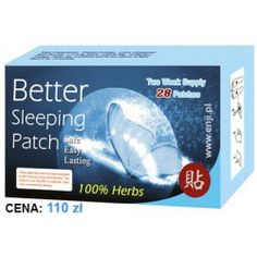 Plastry Better Sleeping Patch - 100% Herbs