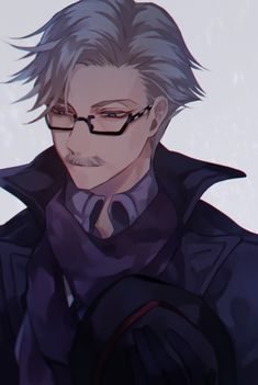 James Moriarty【Fate/Grand Order】 Handsome Older Men, James Moriarty, Fate Zero, Type Moon, Fate Stay Night, Sherlock Holmes, Anime Couples, Manga, Face Claims