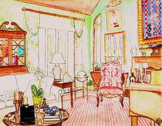 Superior Annie Harwell Interior Design Sketches, Interior Rendering, Art Interiors,  Designs To Draw,