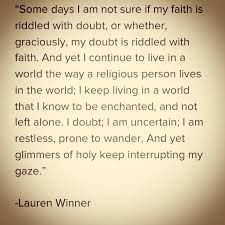 Image result for doubt and faith quotes