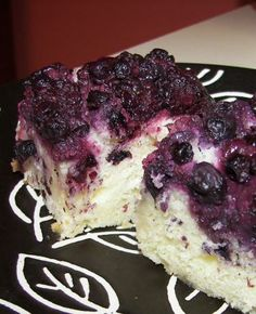 Lemon Blueberry Upside Down Cake from Food.com:   I could kiss Bobby Flay for coming up with this dessert recipe. I love the combination of blueberries and lemon. Trump that with a carmelized blueberry topping over a yummy white chocolate and coconut-flavored cake!  Now you're talkin'!  *Make sure to read through the recipe so you can have some ingredients at room temperature*
