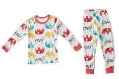 Elephant Pajama Set // baby pajamas // toddler pajamas // unisex gender neutral