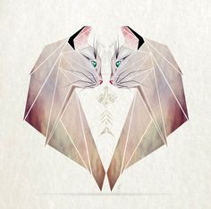 Illustration / Inspired By Tangram, I Started Creating Geometric Illustrations Of Animals