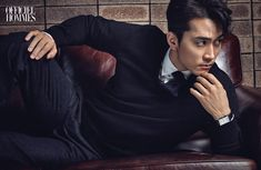 Song Seung Heon Is The Perfect Winter Man For L'Officiel Hommes' December 2014 Issue Song Seung Heon, Asian Actors, Korean Actors, Sung Hyun, Cha Seung Won, Hot Asian Men, Korean Star, Man In Love, Celebs