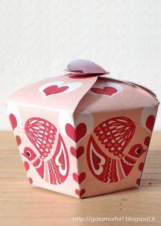 Gift box printable template