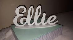 Laser cut name plaque. Personalised present Name Plaques, Laser Cut Acrylic, Laser Cutting, Presents, Gifts, Handmade, Wedding, Valentines Day Weddings, Favors