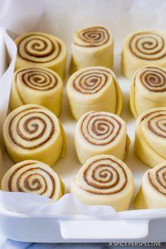 "Sooooo Good! ""Better than Cinnabon"" Cinnamon Rolls Recipe | ASpicyPerspective.com"