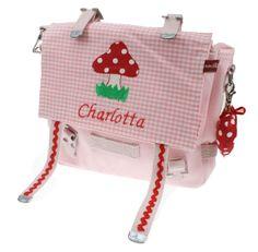 Kindergartentasche, Kindergartentasche mit Namen,  von Lilliland auf DaWanda.com