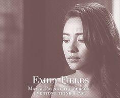 Pretty Little Liars Español: Frases de Emily Fields