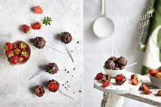 Raw Triple Chocolate Strawberry Pops, fruchtig, lecker und das ganz ohne Zucker. Das perfekte Rezept für die es schokoladig und frisch mögen.
