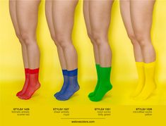 We Love Colors Socks, Knee Highs And Thigh Highs - We Love Colors