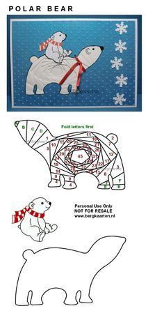 Irisvouwen: Christmas
