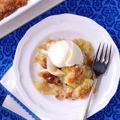 Mom's Cinnamon-Apple Crisp Recipe from Taste of Home -- shared by Cleo Lightfoot of Southlake, Texas