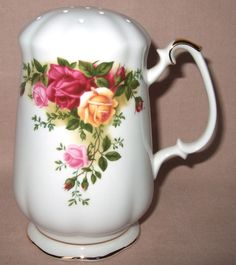 Royal Albert Old Country Roses Sugar Shaker Sifter First Quality Boxed New | eBay