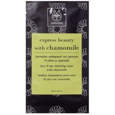 Apivita Face And Eye Cleansing Wipe With Chamomile 5ml Cosmetiques Online