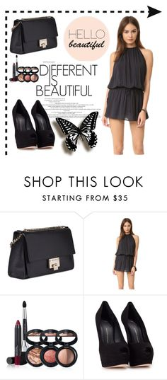 """""""Untitled #42"""" by miyala ❤ liked on Polyvore featuring Jimmy Choo, Blue Life, Laura Geller and Giuseppe Zanotti"""