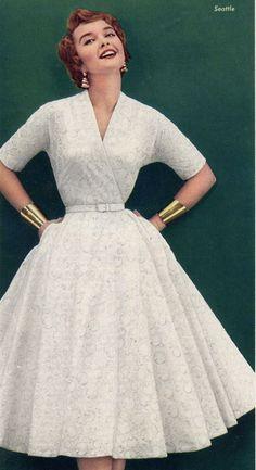 Prom dress 1950 nurse