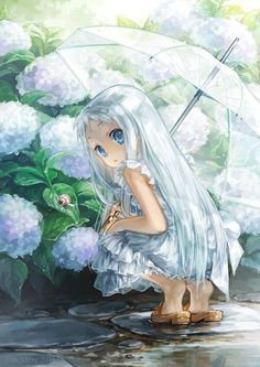 Anohana: The Flower We Saw That Day, Menma