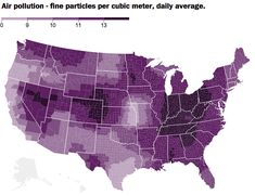 The 10 maps that illustrate the healthiest counties in America