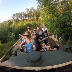 Racing through the forest in a tank. Yes that was fun! #wielkopolska #poland #polen #reis #reizen #reisblog #reisblogger #travel #travelblogger #blog #travelling #travelphotography #photography #reisgoesting #reisfotografie #nothingisordinary #keepitwild #liveauthentic #finditliveit #dametraveler #tank #skot
