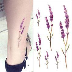 24 Designs Floral Temporary Tattoos