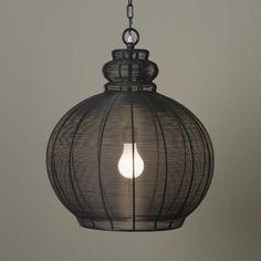Mod Lighting Kept by Jeanine Hays.  High Wire Pendant Lamp