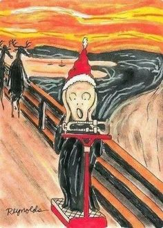 After Christmas haha. Wow this is probably so funny because I spent all semester studying the deep intellectual meaning and blah, blah, blah in Art History haha Funny Christmas Cards, Christmas Greetings, Christmas Humor, Christmas Fitness, Humor Mexicano, After Christmas, Christmas And New Year, Merry Christmas, Christmas Cookies