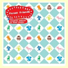 Papier adhésif plastifié Kitsch Kitchen FOREST FRIENDS