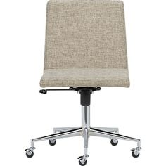 jones natural office chair in office furniture cb2 armless office chair wheels