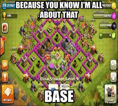 Ive totally been thinking this ever since i started clash of clans. Glad to know im not the only one.